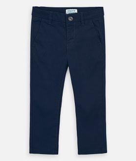 Calças azul marinho chino slim fit menino