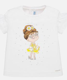 Camisola manga comprida boneca bebé menina