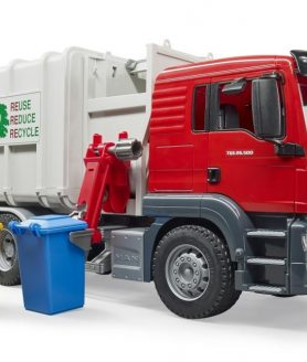 Camião do lixo lateral