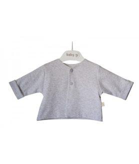 Casaco de algodão cinza