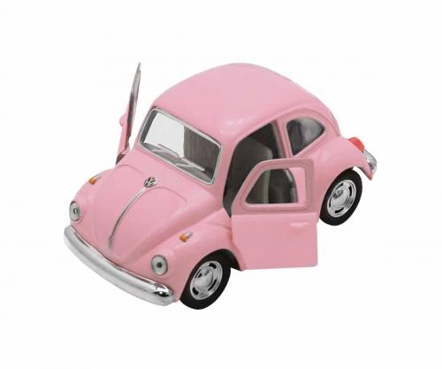 Carro De Brinquedo Pink Classical Beetle